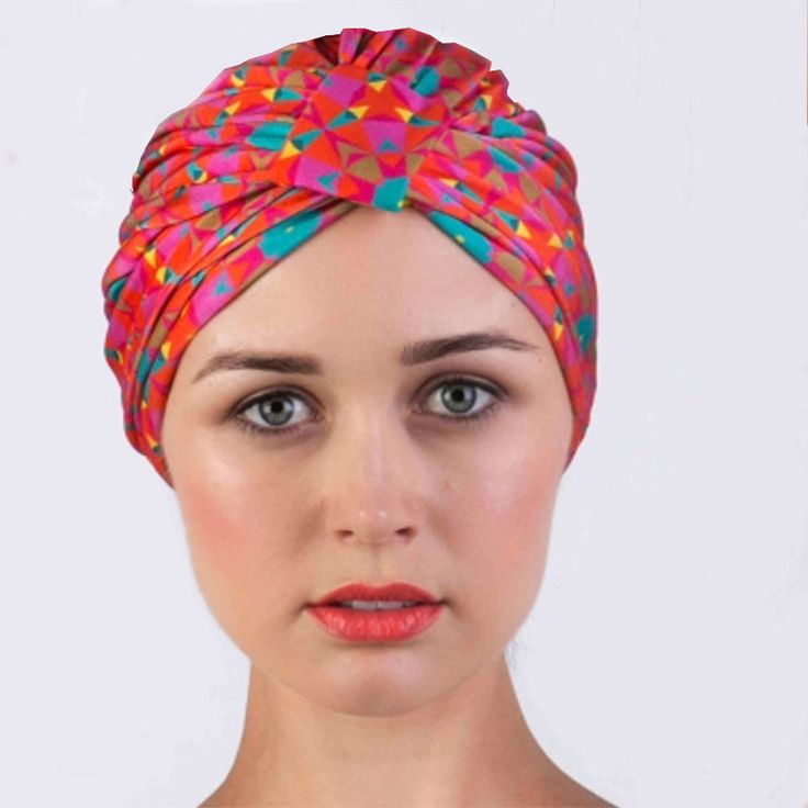 top3 by design - Louvelle - amelie shower cap pink geo