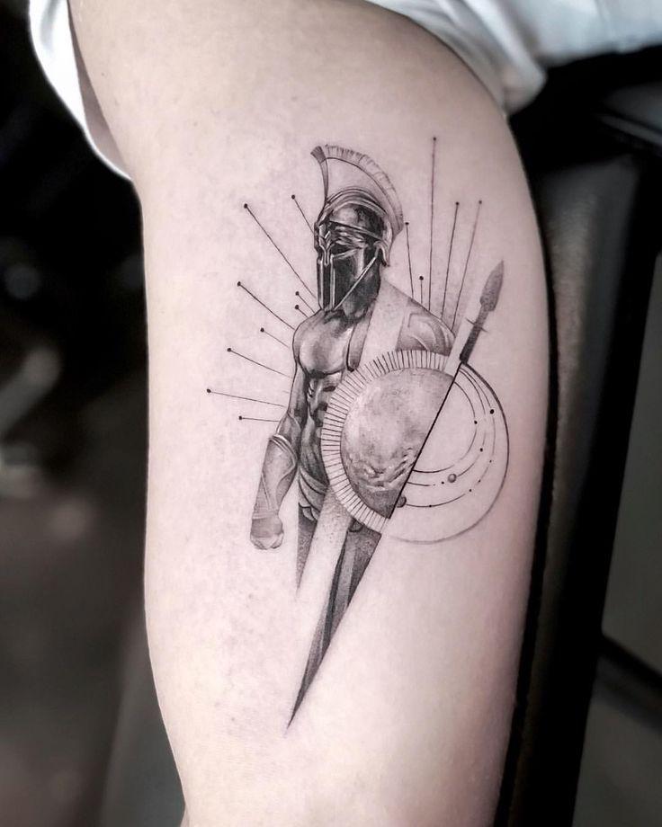 "John Monteiro auf Instagram: ""Good Mars Mars – Danke Marius #ares"" – Tattoo …   – Tatoo"