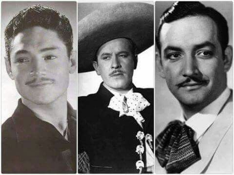Los grades de la canción Mexicana: Javier Solis, Pedro Infante y Jorge Negrete :)