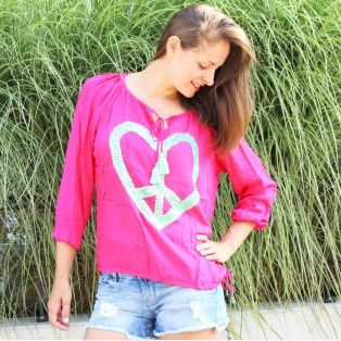 Hot Lava - peace - pink
