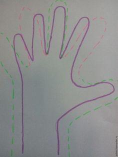 Валяем перчатки по своему шаблону - Ярмарка Мастеров - ручная работа, handmade