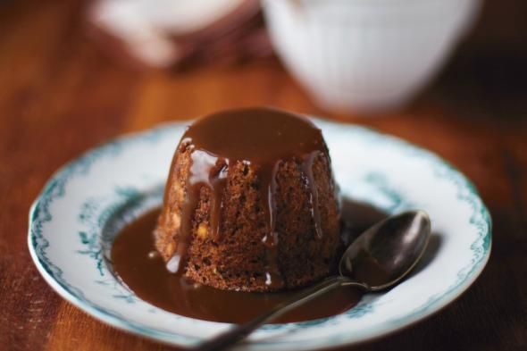 Sticky Toffee Banana Pudding | Sweets | Pinterest