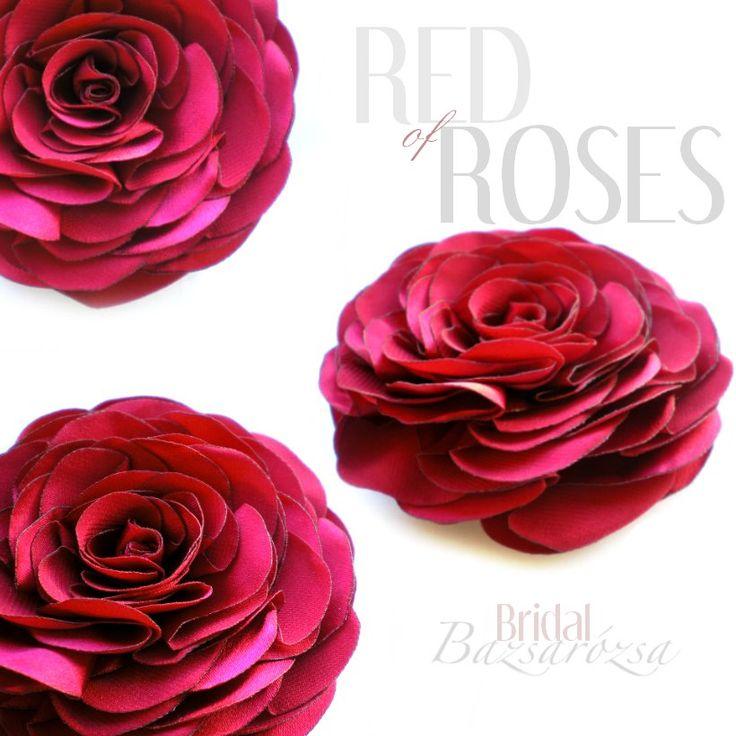 rózsa, vörös, Bazsarózsa, kitűző