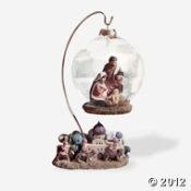 Nativity Ball With Bethlehem Base