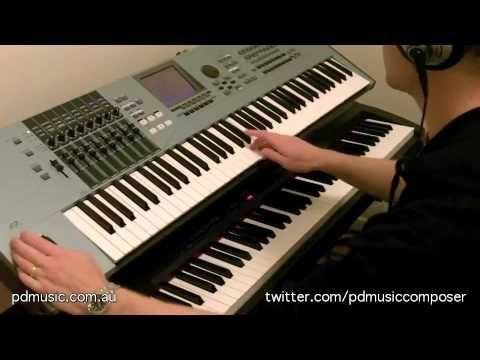 Collide by Paul Doolan, Music Composer, on Yamaha Motif XS