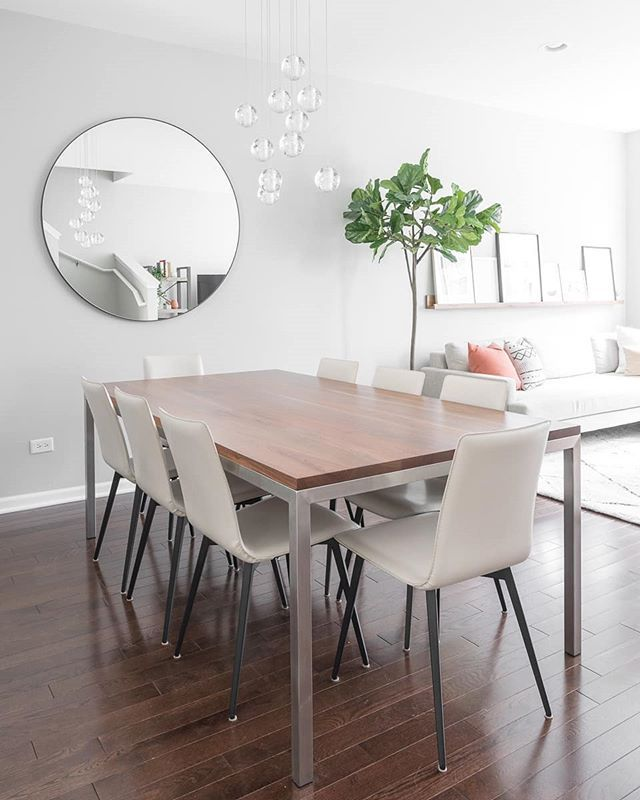 26+ Round walnut dining table and chairs Tips