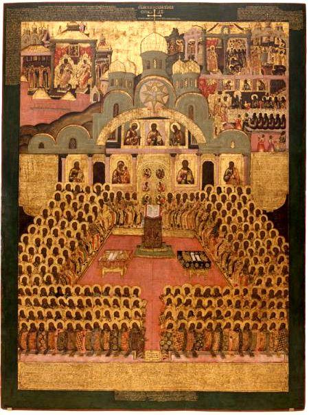 Seventh ecumenical council (Icon) - Byzantine Iconoclasm - Wikipedia, the free encyclopedia