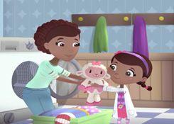 DoctoraJuguetesJuegos.com - Juego: Rompecabezas Lavado de Lambie - Juegos de Puzzles de Doctora Juguetes Disney Jugar Gratis Online