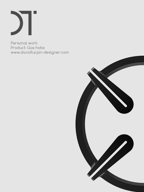 Modern design gas hobs - Personal work
