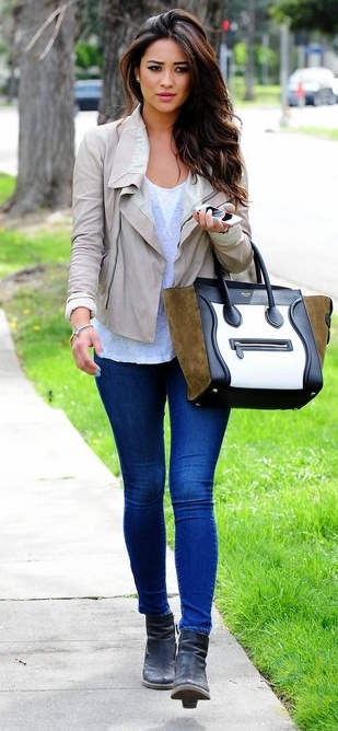 Shay Mitchell-Love her and her style,i think she looks absolutely gorgeous.