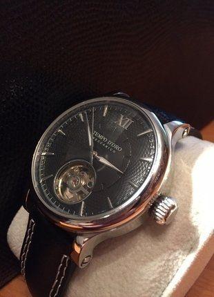 #Tchibo #Uhr #Automatik #Herren #schwarz #Mode #Schmuck #Automatikuhr #Leder #Lederarmband #Kleiderkreisel http://www.kleiderkreisel.de/herrenmode/armbanduhren/141134442-automatik-herrenuhr-mit-lederarmband-von-tchibo