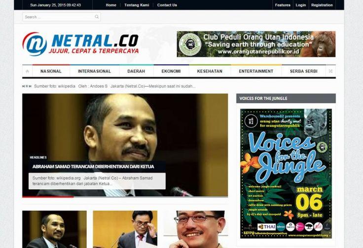 NETRAL.CO Web Portal Portfolio oleh ATDIV.com - http://www.atdiv.com/project/netral-co/