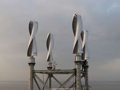 Vertical-axis small wind turbine / helical Savonius rotor WS-4 RANGE Windside