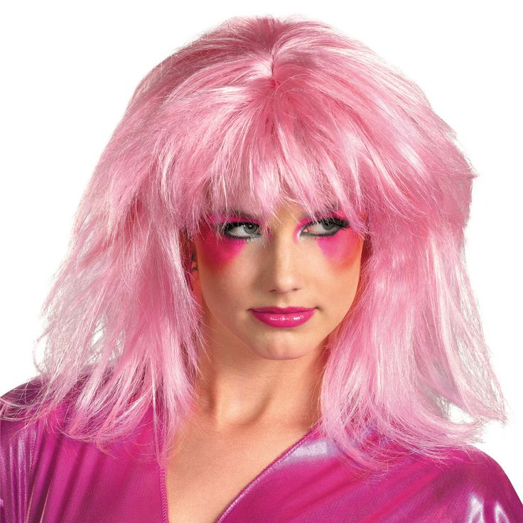 Jem And The Holograms Jem Adult Wig This item includes wig. Does not include costume. This is an officially licensed Jem and the Holograms product. Weight (lbs) 0.66 Length (inches) 10.5 Width (inches