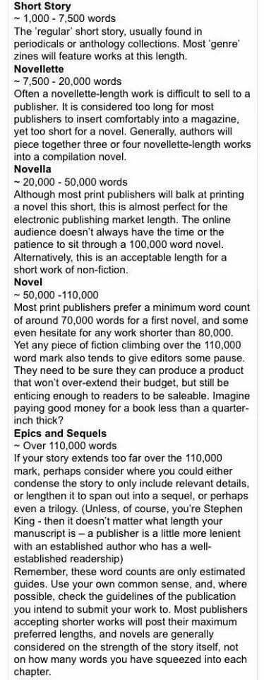 For the publish-seeking writer