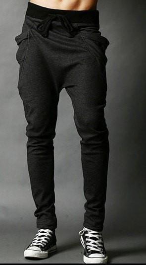Pocket Mens Joggers Cargo Men Pants Sweatpants Harem Pants Men Jogger Pants Men #MensFashionDenim