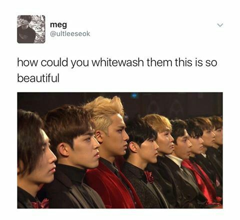 """Frfrfrfr jawlinesssdds << This is awesome.. we need to make our wishes known, that we hate white-washing and want to see natural skin tones... Light is NOT """"better"""".."""