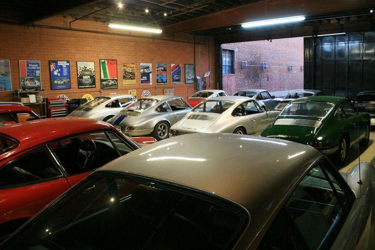Man Cave Garage Porsche : Best garage images on pinterest garages and