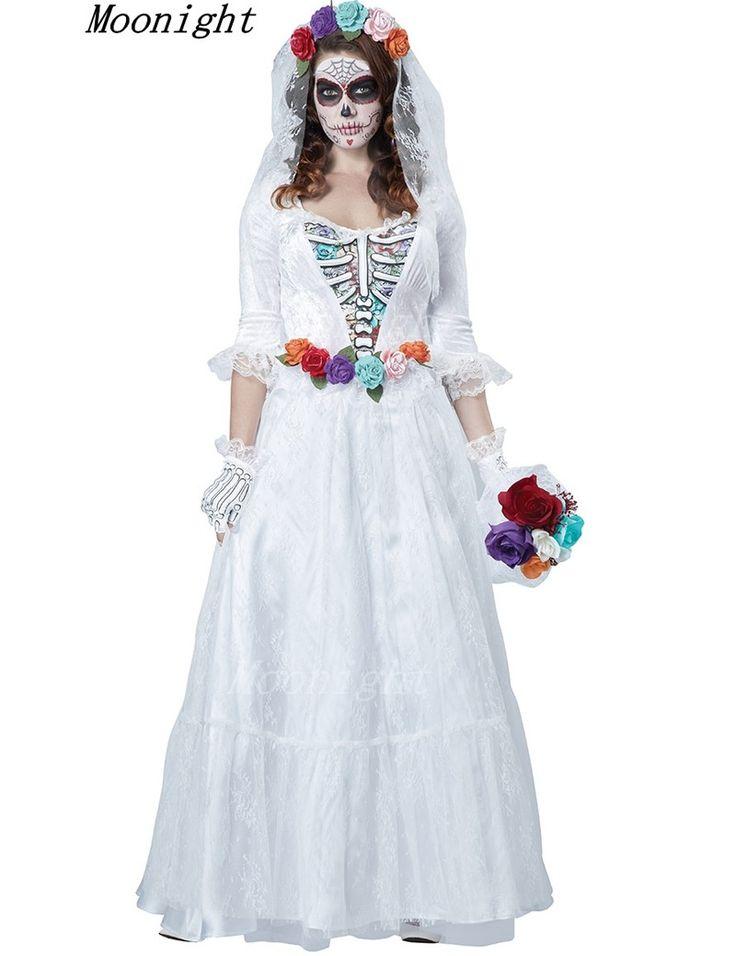 Do corpo do vestido de noiva Lace Overlay do corpo condessa Costume mulheres Halloween em Roupas - Bebê de Novidades e Roupas de Uso Especial no AliExpress.com | Alibaba Group