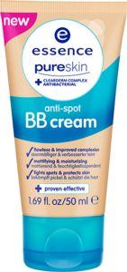 pure skin BB cream anti espinillas natural beige - essence cosmetics