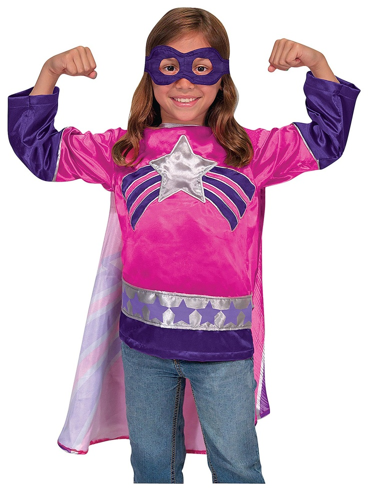 Girl power! Melissa & Doug Super Heroine Role Play Set
