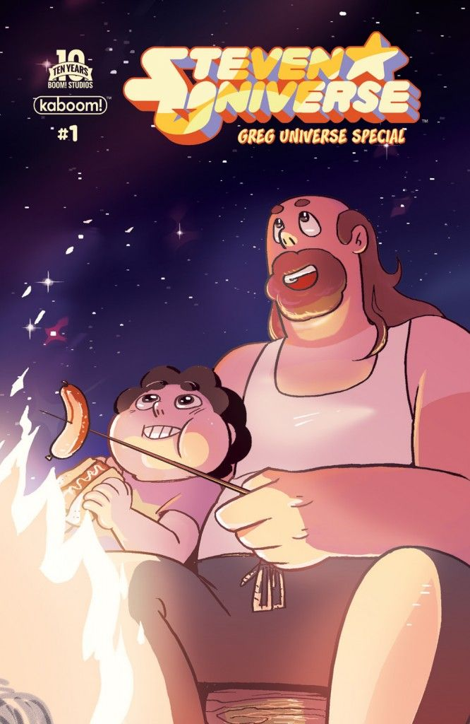 The Mary Sue Exclusive Preview And Interview: BOOM! Studios' Steven Universe: Greg Universe Special #1