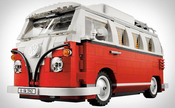 lego VW Camper Van: Lego Sets, T1 Campers, Vw Campers Vans, Volkswagen T1, Lego Vw, Vw Bus, Lego Volkswagen, Vwbus, Vw Vans