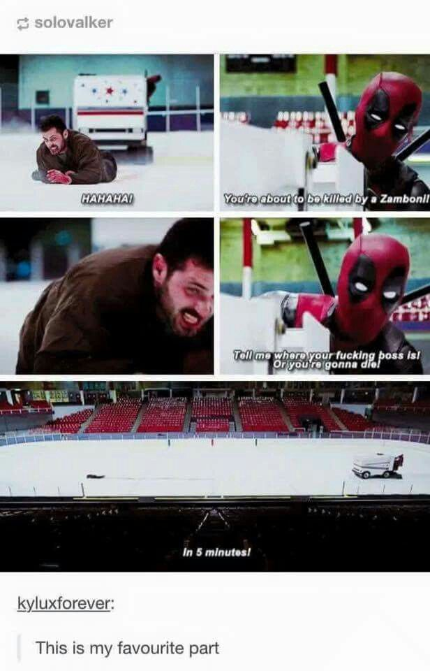 Well, Deadpool is Canadian.