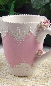 Shabby little Pink Cup.