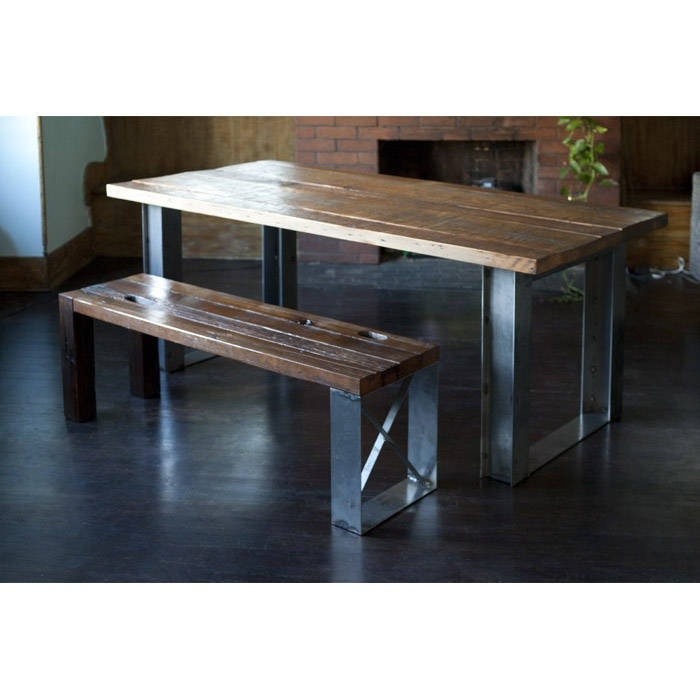 Beautiful dining room table repurposed elements for Repurposed dining table
