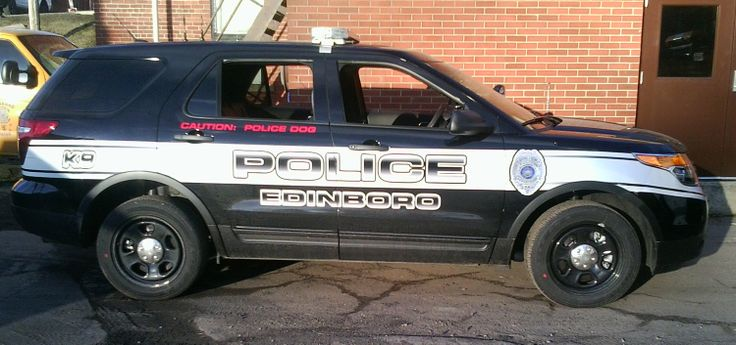 Edinboro Pd K Ford Edge Police Vehicles Ford Edge Police Cars Vehicles