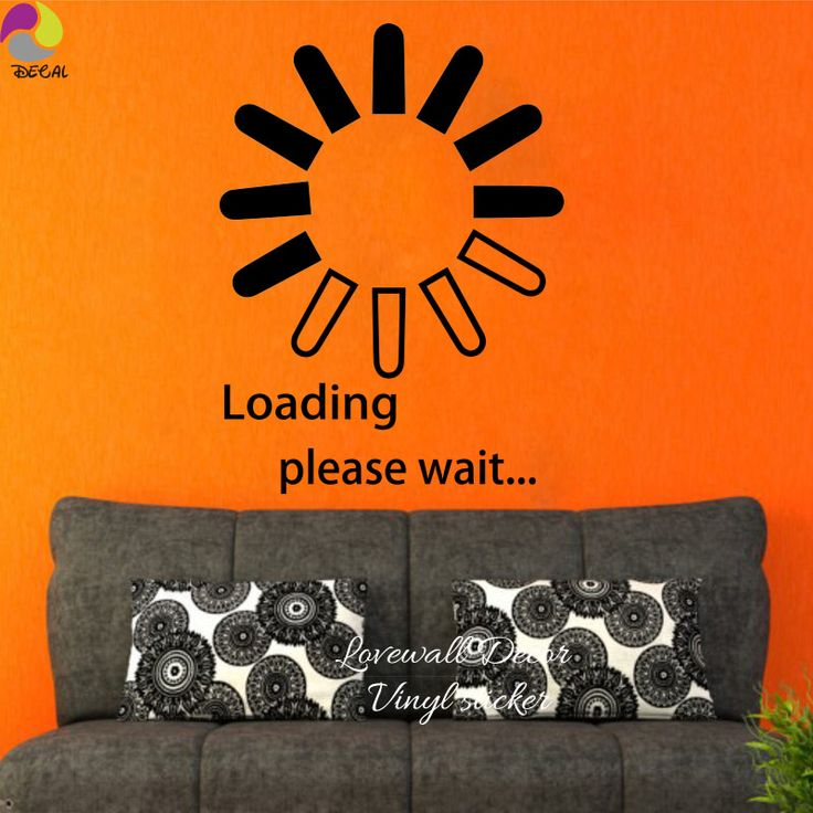 Loading Please Wait Saying Wall Sticker PS3/4 Xbox Play Room Bedroom Boy Game Room Funny Quote Wall Decal Vinyl Home Decor DIY -  Get free shipping. Here we will provide the best deals of finest and low cost which integrated super save shipping for Loading Please wait Saying Wall Sticker PS3/4 Xbox Play Room Bedroom Boy Game Room Funny Quote Wall Decal Vinyl Home Decor DIY or any product.  I hope you are very lucky To be Get Loading Please wait Saying Wall Sticker PS3/4 Xbox Play Room…