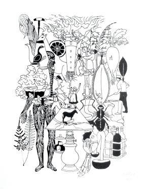 Karambolaj I Sérigraphie sur papier 300g