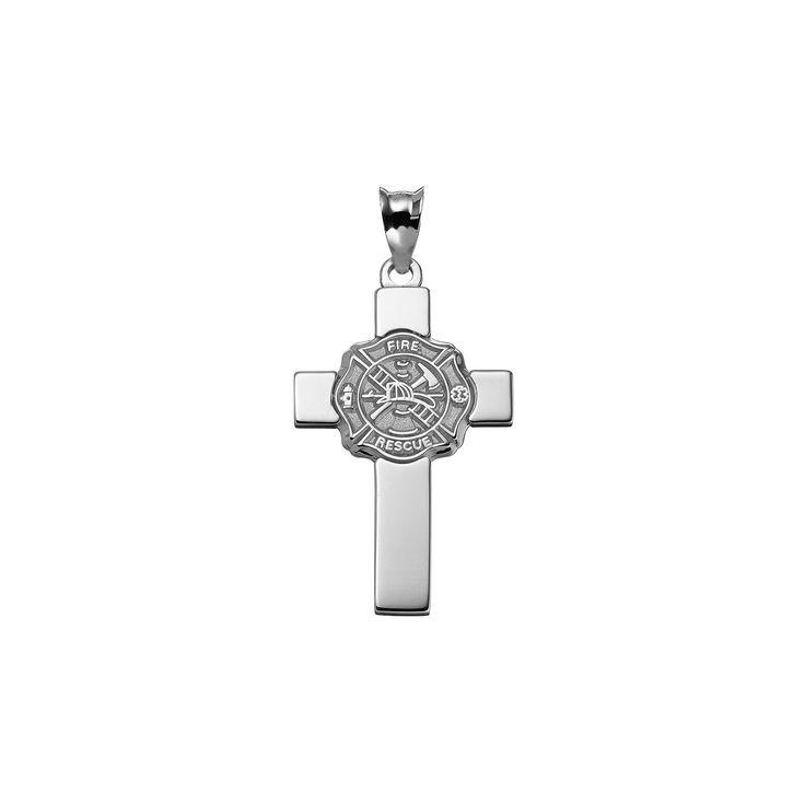 Insignia Collection Sterling Silver Maltese Cross Pendant, Women's, multicolor