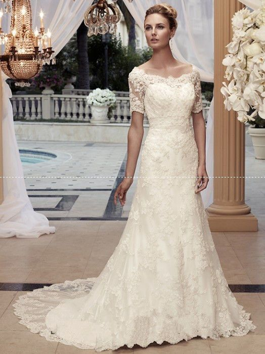 109 best images about Wedding Dresses on Pinterest | Cap sleeve ...
