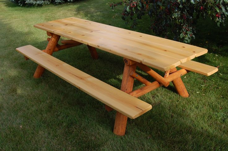 Moon Valley Rustic 8' Picnic Table Kit
