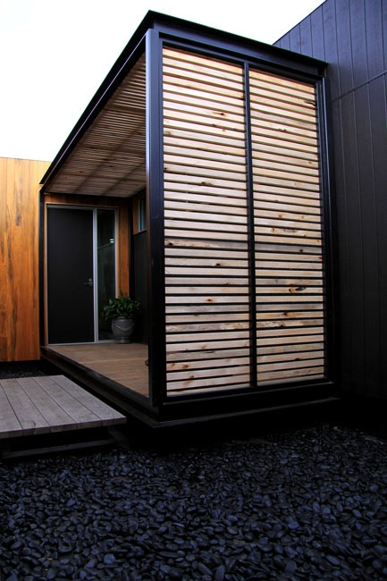 Privacy screen house exterior pinterest screens decking and prefab for Exterior window privacy screens