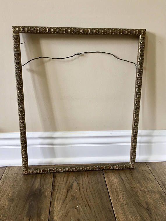 Vintage Frame For Wall Art Wood Picture Frame For Art Frame Wall Frame Mirror Frame Wood Frame Vintage Decorative Frame Antique Frame Old Wood Picture Frames Vintage Picture Frames Frames On