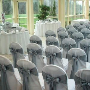 Wedding Chair Covers in DC, MD & VA - Before