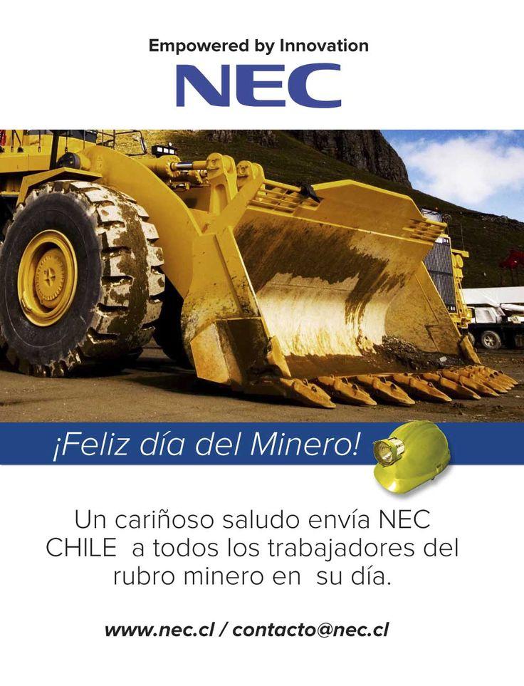 www.nec.com Feliz Día del Minero