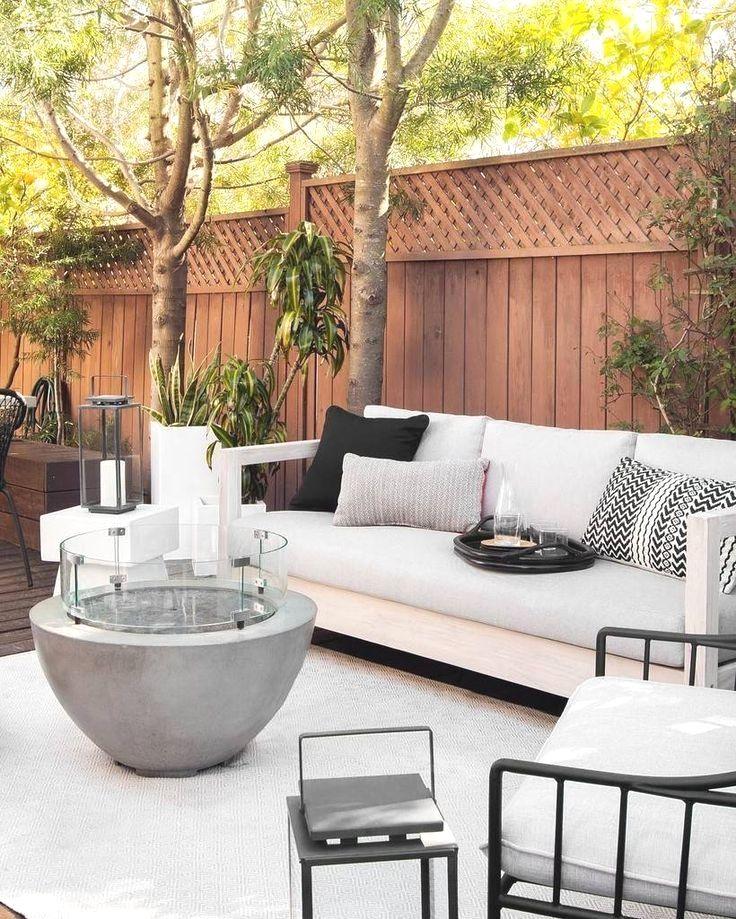 30 White Modern Outdoor Furniture Ideas, White Patio Furniture
