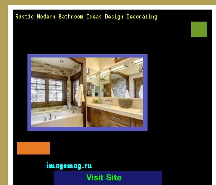 Best 20 Rustic Modern Bathrooms Ideas On Pinterest: 17 Best Ideas About Rustic Modern Bathrooms On Pinterest