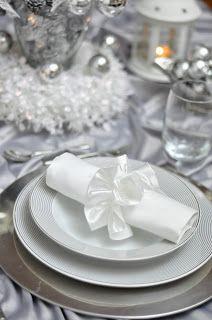 Dekoracje stołu: Boże Narodzenie
