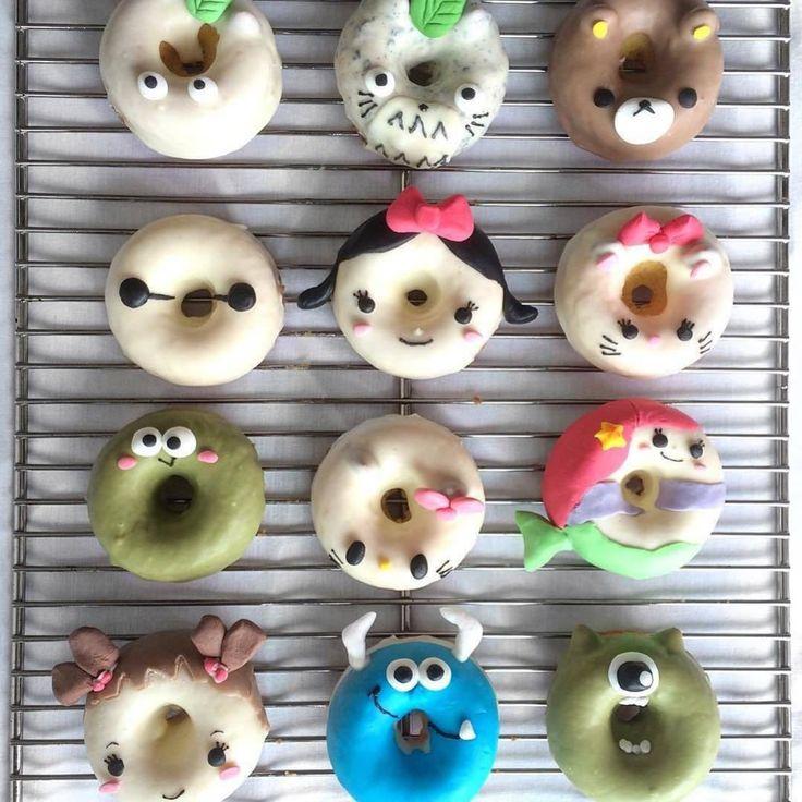 Cute donut alert!  (: @eliseaki) #ABMlifeissweet