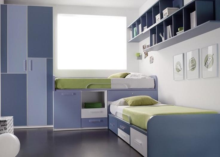 Ayuda muebles dormitorio para dos ni as for Dormitorio juvenil nino
