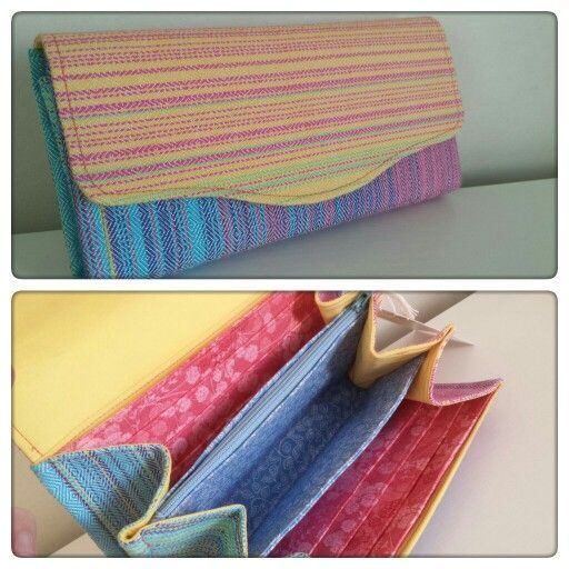 Necessary Clutch Wallet by EmBee Designs (made from Pellicano Fantasja)