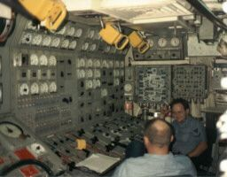 Maneuvering room USS Lafayette SSBN 616   Answers ...