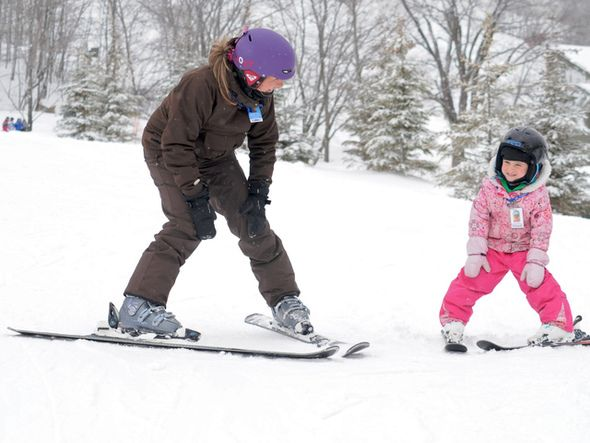 March Break at Blue: A Mountain Sized Week of Activities! Big Fun. Big Value. Easy as 1, 2, 3 ~ ParentSource.ca Durham Region's Parent and Kid's Guide