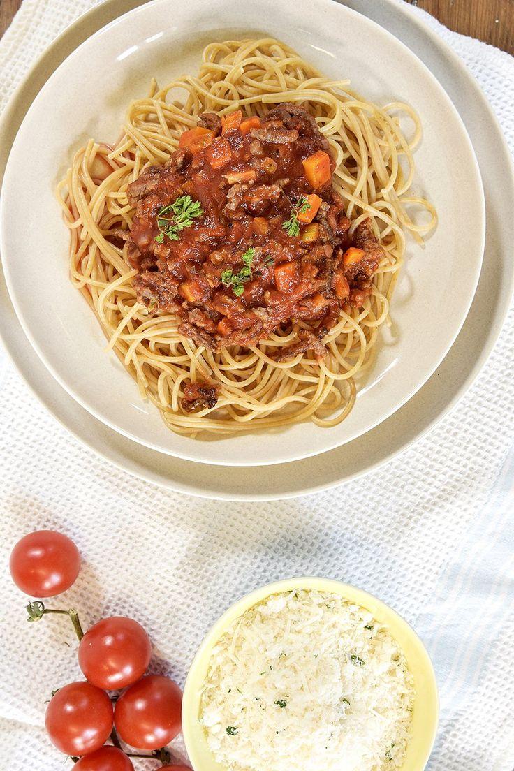 Spagetti og kjøttsaus