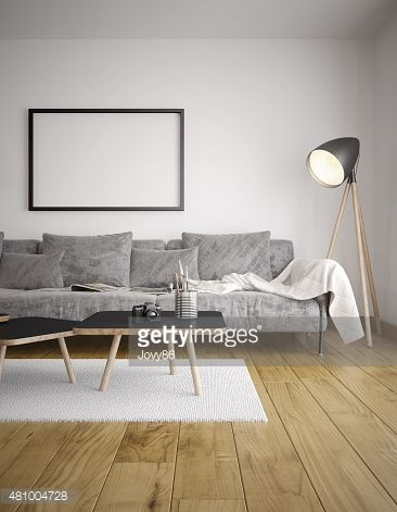 Stock Photo : Modern living room
